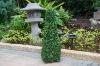 Solar grass pyramid/Solar artificial plant/Artificial lemon tree(SOL8267)