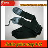 colorful custom leather bass high end guitar strap ends