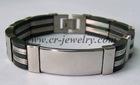 Stainless Steel PU Bracelets