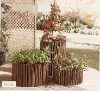 willow surround planter