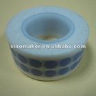 blue dot printing white washi tape