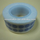 blue dot printing white washi tape