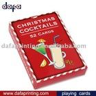 advertising playing card