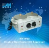MY-W09 wax heater warmer paraffin and depilatory Double functional wax pot heater(CE Approved)