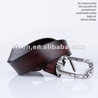 wooden sole genuine fashion belt