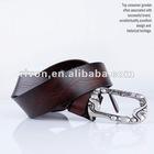 wooden sole genuine fashion belt