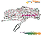 safety belt,escape rope,Dia12.5mm Rescue Security Firefighting Safety rope