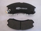 D399 Semi-metallic or metallic brake pad for FORD&MAZDA