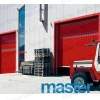 77mm series automatic aluminum garage roller door