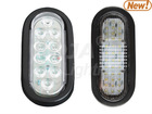 Back-up Light,6'' Oval LED, (led trailer light)