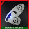 2012 Hot sale cobar 1 led silicone led bicycle light