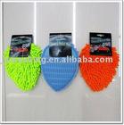 Microfiber chenille Car wash mitt 21X17cm