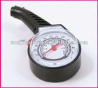 Black 10-50lbs Passenger Care Analog Dial Tire Gauge