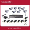 8CH CCTV system VG-H7408NK with Network and mobile phone surveillance