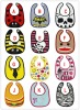 fashion cotton baby bibs waterproof infant bibs