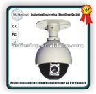 economic 3.8 '' mini medium speed dome camera with Sony CCD camera module 10X and CE, RoHS, Fcc, Reach