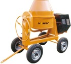 260L /9 cu. ft. Cement Concrete Mixer w/ Electric Start Diesel Engine 6.6HP Model#SM350