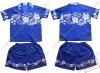 100% cotton printed boy's dress shirts
