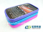 TPU &PC cover case for blackberry 9900