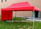 10x15 folding tent for advertising, one wall