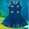 Sublimated girls netball skirts uniforms