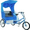 Rickshaw with gear