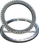 Ball slewing bearing with outer gear , construction machinery slewing ring bearing parts