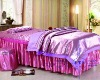 2012 luxury colorful queen size beauty salon duvet cver set