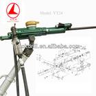 YT24 pneumatic tools rock drill machine