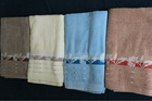 Wholesale Jacquard Cotton Bath Towel Good For Promotion(Competive Price)