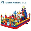 Clown inflatable mini theme park
