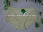 shantou ladies' sexy fashional lingerie middle waist pants #335