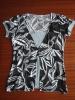 2012 Ladies' blouse over printed
