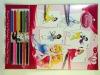 17pcs design stationery set