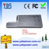 rechargerable high quality notebook battery 11.1V 4400mah For Dell D820 Series