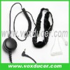 Throat vibration mic with clear tube for Yaesu Vertex radio VX-300 VX-400 VX-410 VX-420