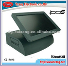 2012 new 15 inch all in one touch screen pos Machine with MSR