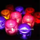 Projection led candle, wedding candle decoration