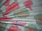 tropical water based printing melton fabric