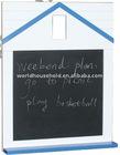 2011 the most popular houseshape chalkboard wooden memo board