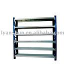 AS-062 stainless steel 6-tier heavy duty metal rack