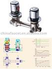 show room thermostatic valve