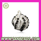 Wholesale Silver Plated alloy pendants and charms