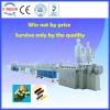 HDPE silicon-cored pipe extrusion manufacturing