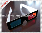 anaglyphic paper 3d glasses