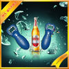 different style bottle opener with flashing light/sound chip