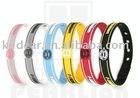 tie-dye silicone bracelet