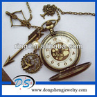 The Hunger Games Inspired Pocket Watch With Bow And Arrow