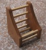 Bamboo cell phone holder