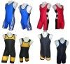 custom wrestling singlets, 100% polyester sublimation sportswear